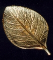 brass tobacco leaf
